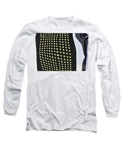 Long Sleeve T-Shirt featuring the photograph Reflection On 42nd Street 1 by Sarah Loft