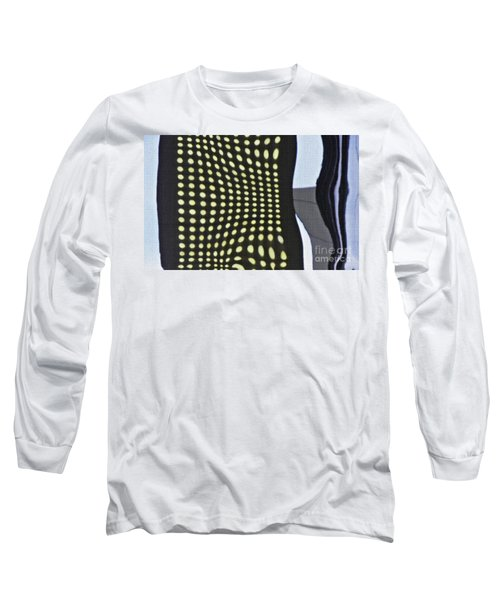 Long Sleeve T-Shirt featuring the photograph Reflection On 42nd Street 2 by Sarah Loft