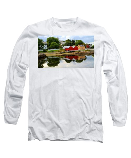 Reflections In Rorvik Long Sleeve T-Shirt