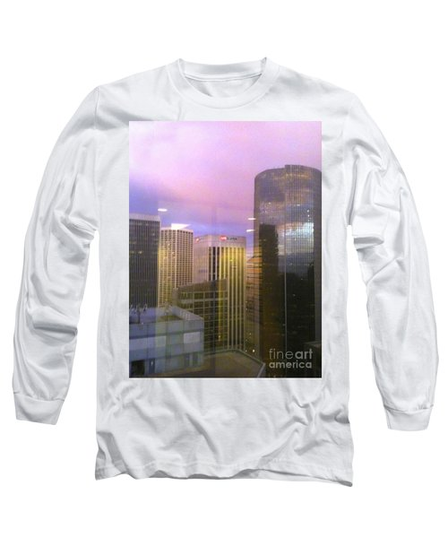 Reflections Looking East Long Sleeve T-Shirt
