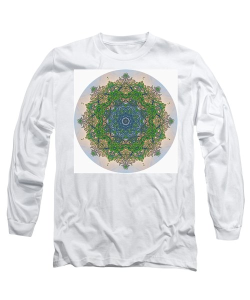 Reflections Of Life Mandala Long Sleeve T-Shirt