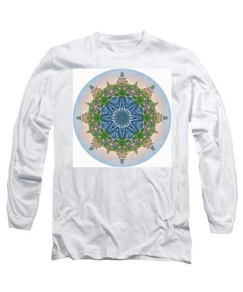 Reflections Of Life Mandala 2 Long Sleeve T-Shirt