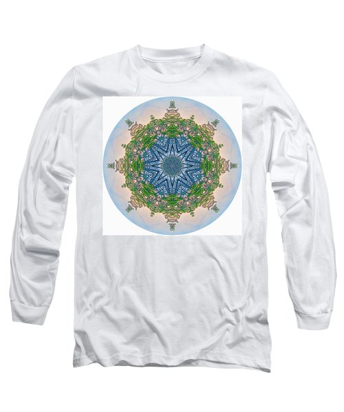 Reflections Of Life Mandala 2 Long Sleeve T-Shirt
