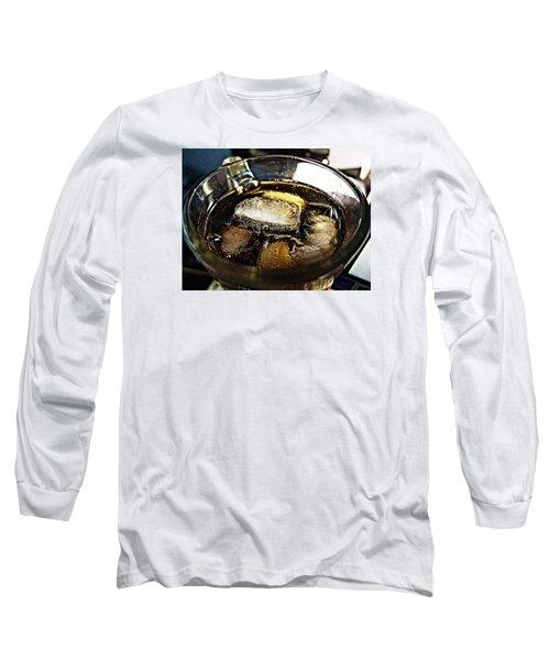 Refreshing Drink Long Sleeve T-Shirt by John Rossman