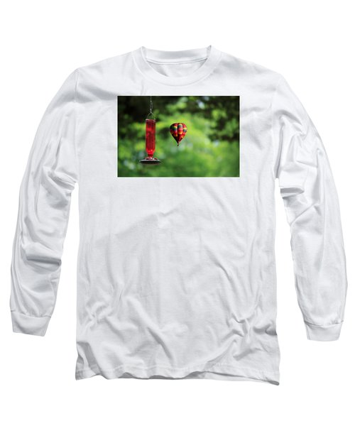 Refueling Long Sleeve T-Shirt by Don Gradner