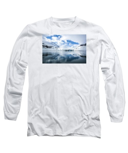 Reid Glacier Glacier Bay National Park Long Sleeve T-Shirt