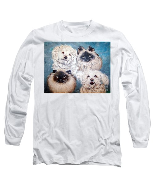 Reigning Cats N Dogs Long Sleeve T-Shirt