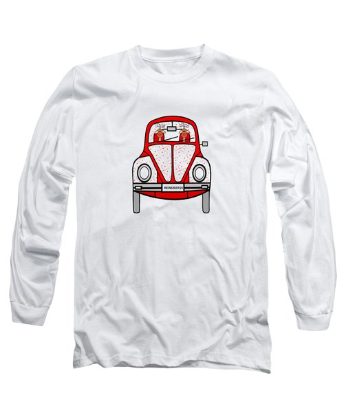 Reindeer Transportation Long Sleeve T-Shirt