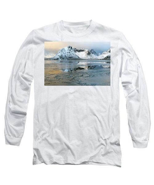 Reine, Lofoten 5 Long Sleeve T-Shirt by Dubi Roman