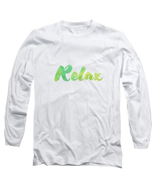 Relax Long Sleeve T-Shirt
