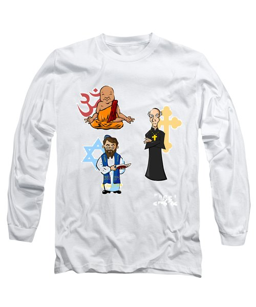 Religious Icons Long Sleeve T-Shirt by Whitney Morton