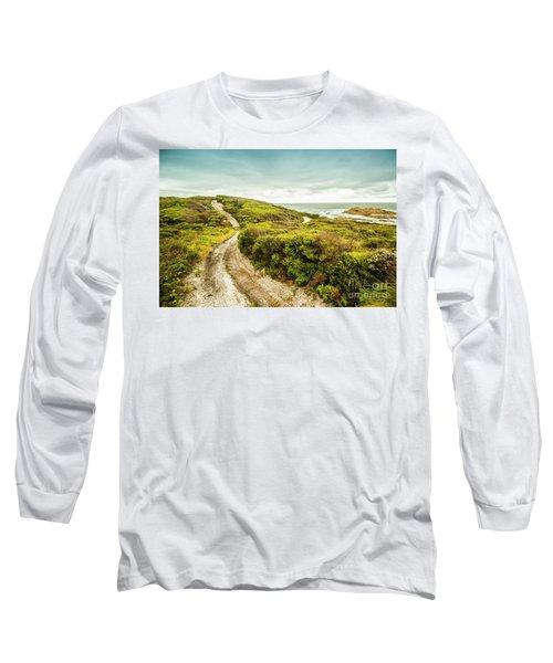 Remote Australia Beach Trail Long Sleeve T-Shirt