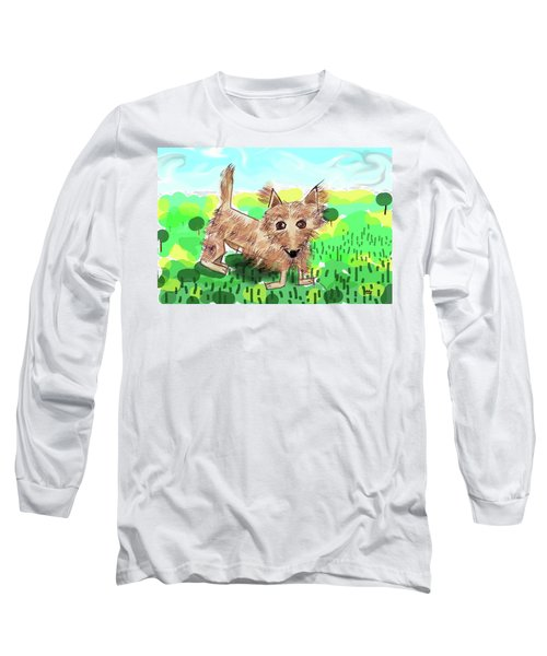Remy, Laird Of The Cairn Long Sleeve T-Shirt