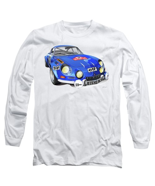 Alpine Renault A110 Long Sleeve T-Shirt