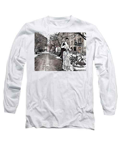 Renoir In Stokholm Collage Renoir Long Sleeve T-Shirt