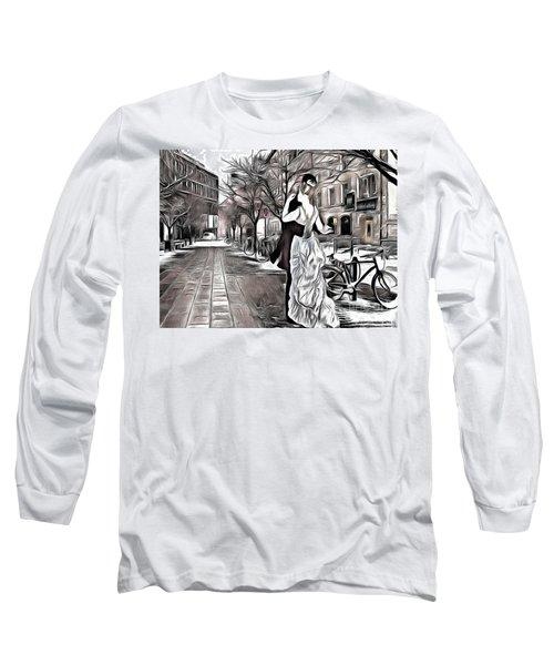Renoir In Stokholm Collage Renoir Long Sleeve T-Shirt