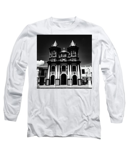 Replica Church In El Penol Long Sleeve T-Shirt