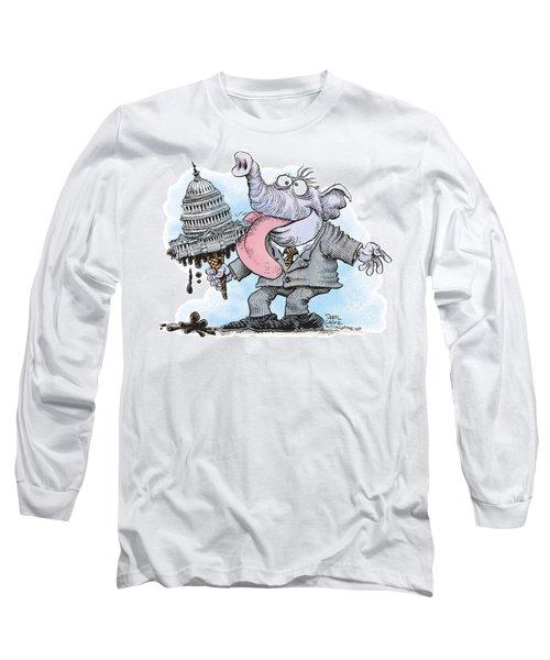 Republicans Lick Congress Long Sleeve T-Shirt