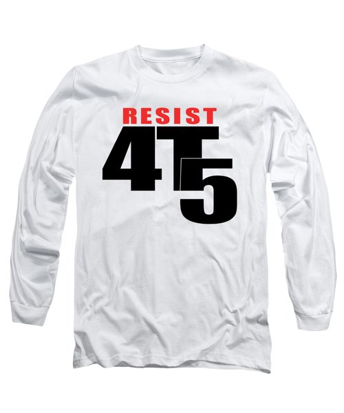 Resist #112 Long Sleeve T-Shirt