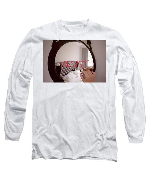 Resistance Lipstick Long Sleeve T-Shirt