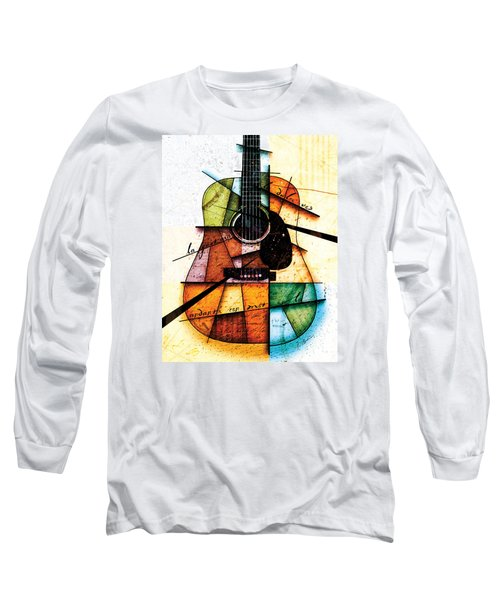 Resonancia En Colores Long Sleeve T-Shirt by Gary Bodnar