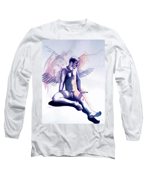 Resting Angel Long Sleeve T-Shirt