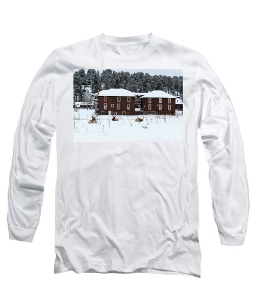 Resting Elk - 9131 Long Sleeve T-Shirt