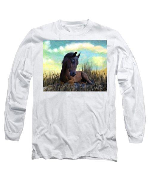 Resting Foal Long Sleeve T-Shirt