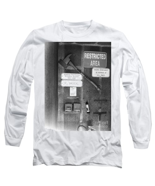 Restricted Area Long Sleeve T-Shirt by WaLdEmAr BoRrErO