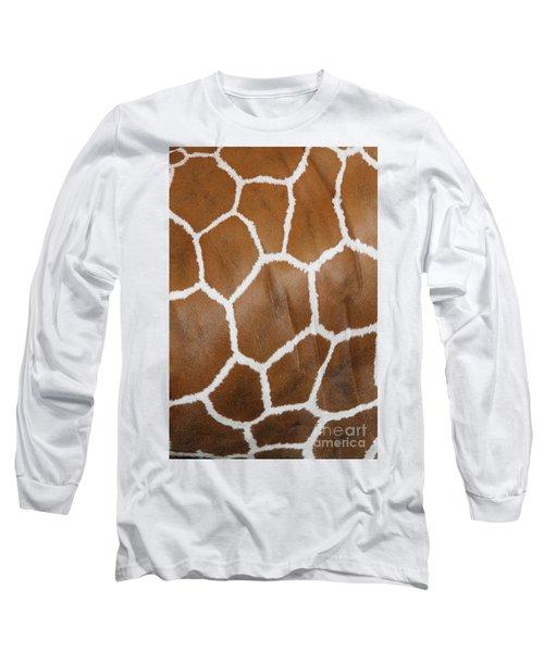Reticulated Giraffe #2 Long Sleeve T-Shirt