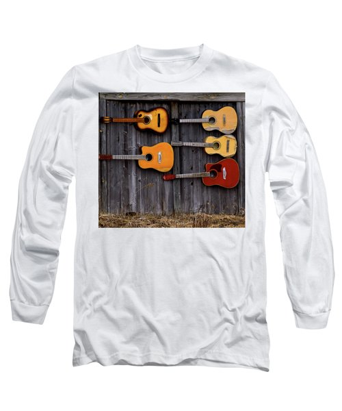 Retired Guitars  Long Sleeve T-Shirt