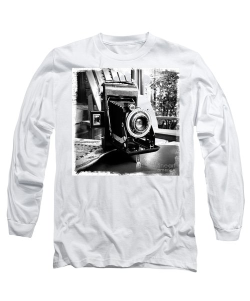 Long Sleeve T-Shirt featuring the photograph Retro Camera by Daniel Dempster