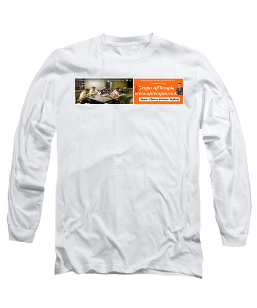 Revista Ajiterapia Long Sleeve T-Shirt