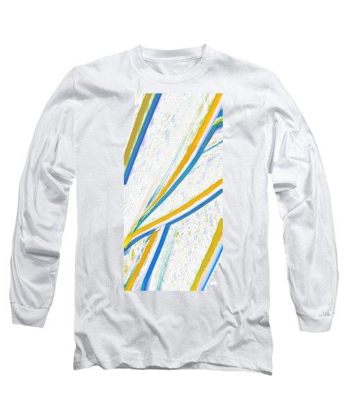 Rhapsody In Leaves No 1 Long Sleeve T-Shirt by Ben and Raisa Gertsberg