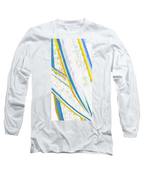 Long Sleeve T-Shirt featuring the digital art Rhapsody In Leaves No 2 by Ben and Raisa Gertsberg