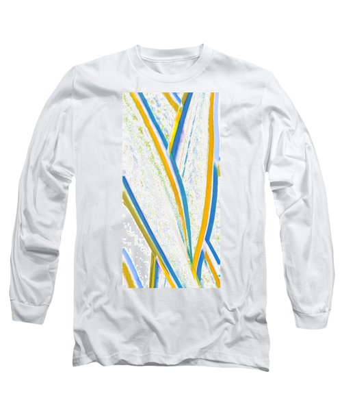 Long Sleeve T-Shirt featuring the digital art Rhapsody In Leaves No 3 by Ben and Raisa Gertsberg