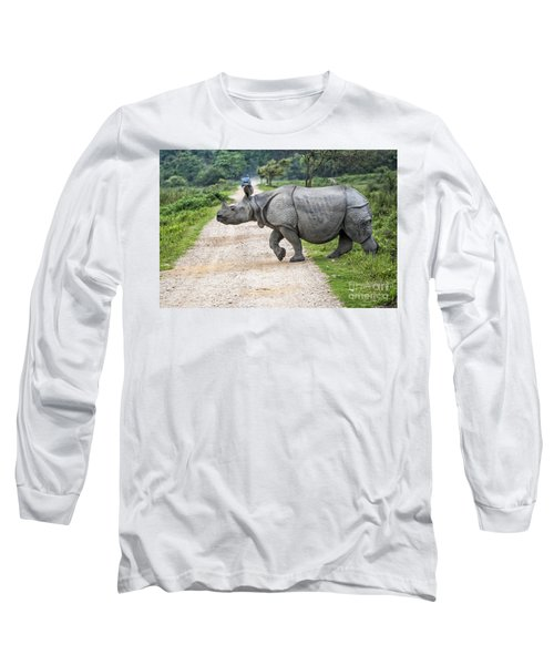 Rhino Crossing Long Sleeve T-Shirt