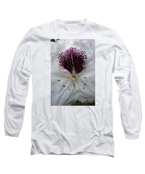 Rhododendron 2 Long Sleeve T-Shirt by Jean Bernard Roussilhe