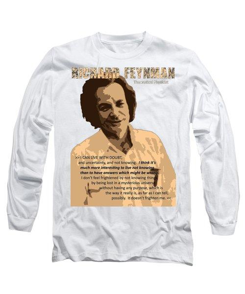 Richard Feynman Long Sleeve T-Shirt