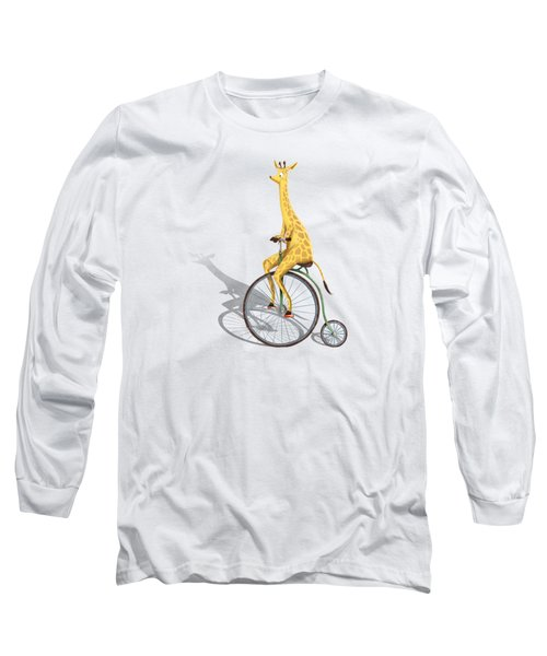 Ride My Bike Long Sleeve T-Shirt