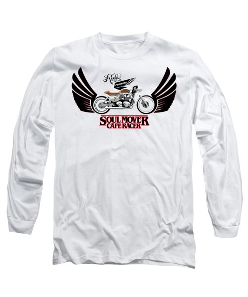 Ride With Passion Cafe Racer Long Sleeve T-Shirt