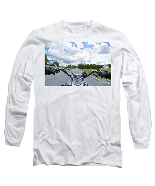 Riders Eye View Long Sleeve T-Shirt by Micah May