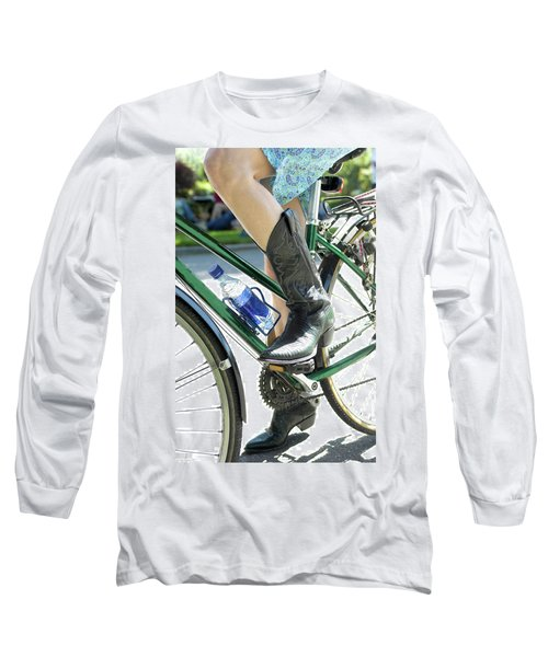 Riding In Style Long Sleeve T-Shirt