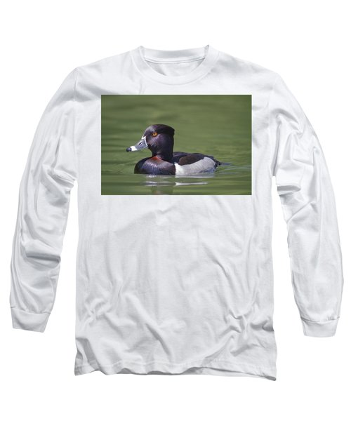 Ring-necked Duck Profile Long Sleeve T-Shirt