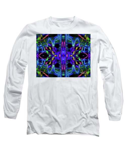 Rings Of Fire Dopamine #156 Long Sleeve T-Shirt by Barbara Tristan