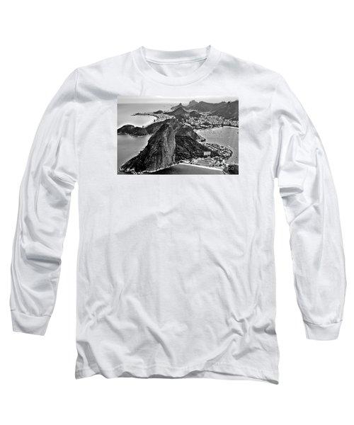 Rio De Janeiro - Sugar Loaf, Corcovado And Baia De Guanabara Long Sleeve T-Shirt