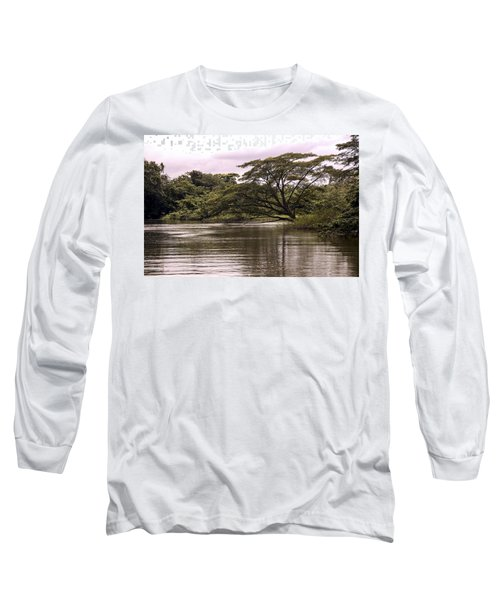 Riparian Rainforest Canopy Long Sleeve T-Shirt