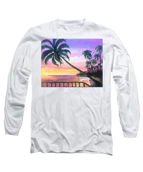 River Road Sunrise Long Sleeve T-Shirt