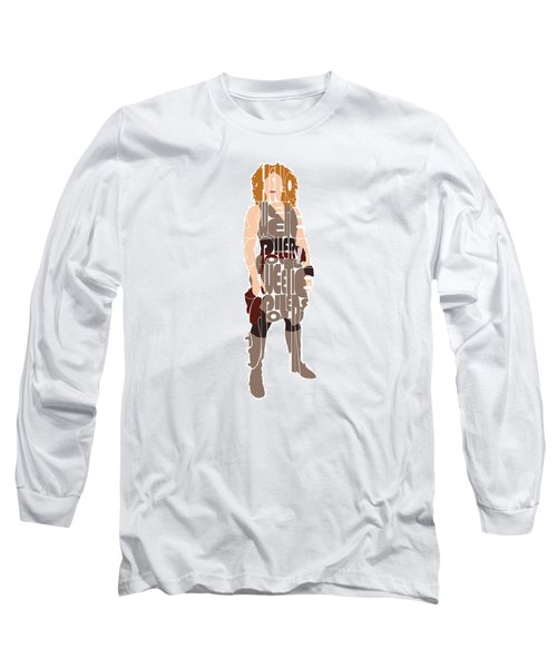 Long Sleeve T-Shirt featuring the digital art River Song by Jean Haynes
