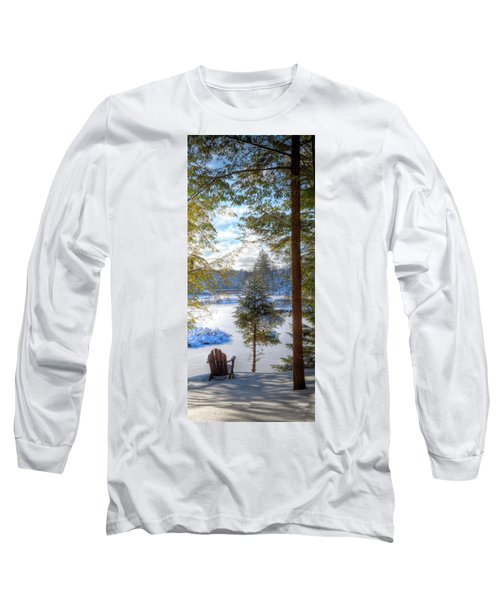 River View Long Sleeve T-Shirt by David Patterson